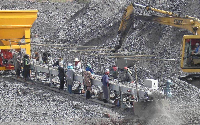 Convoyeur transfert à plat Tecnitude minéraux