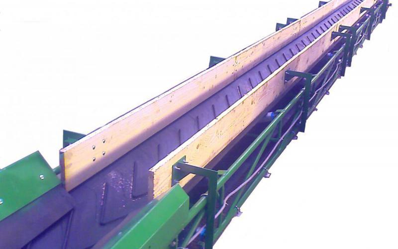 Planches de rives Tecnitude - Options pour un convoyeur à bande