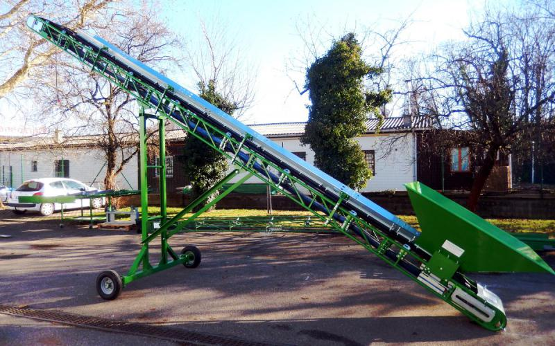 Grasshopper conveyor Manubloc with trough of Tecnitude