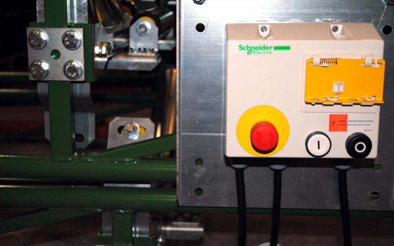 Pièce de rechange - armoire électrique - convoyeur - Tecnitude - options