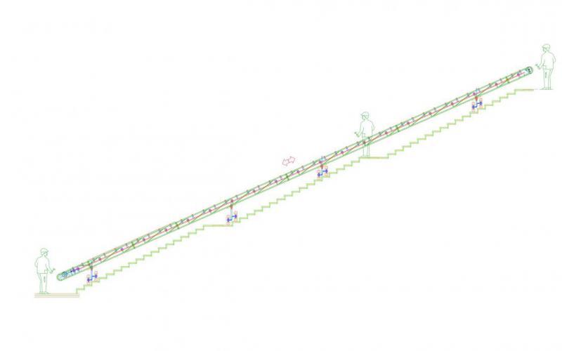 Plan de configuration : Manubloc E.A 22 m x 500 mm