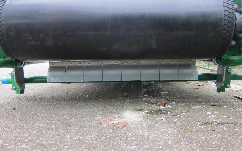 Racleur multi-lames Tecnitude - options pour convoyeur à bande