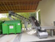 convoyeurs à bande Tecnitude pour transport de boues et déchets organiques / minéraux