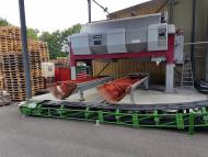 Protection anti-corrosion des ossatures du convoyeur à bande par thermolaquage