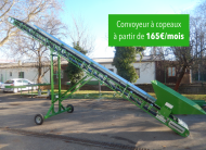 Wood chips conveyor as for 165 € / month