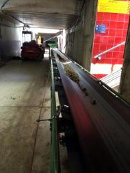 Belt conveyor Tecnitude for overburden removal evacuation