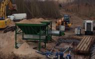 Extracteurs à bandes trémies Tecnitude - transport de sable