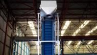 Conveyor belt Manuplat with double inflection