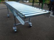 Convoyeur transfert à plat Tecnitude - table à rouleaux