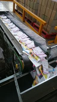 bande transporteuse pour l'industrie papetière
