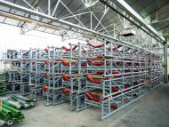 Rental housing for conveyor belt