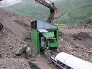Trémie de stockage et d'alimentation Tecnitude - Transport de terre et gravats