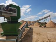 Convoyeur de type Manukit sur centrale Biomasse