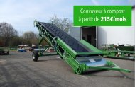 Compost conveyor as of 215 € / month
