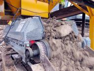 Evacuation de matériaux de terrassement par Manuextract