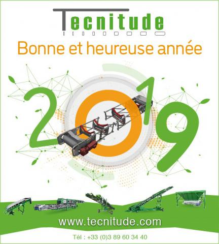 Tecnitude's Team wish you a happy new year