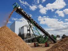 Conveyor Manukit 1000 - Biomass plant