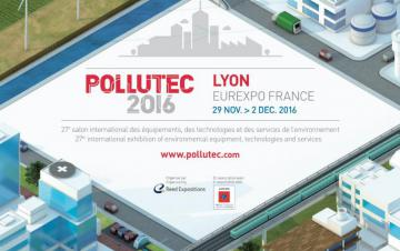 pollutec 2016 affiche